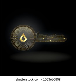 Lisk Cryptocurrency Coin Private Key