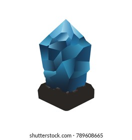 Lisk (LSK)  logo icon. Cryptocurrency / altcoin.