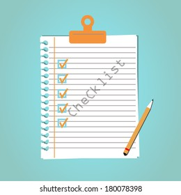 list of completed tasks