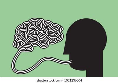 literally: speak your mind