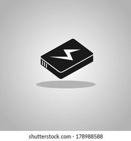 lithium ion batteries icon