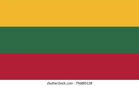 Lithuania national flag