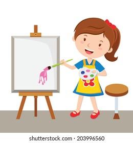 Cartoon Painter Images Stock Photos Vectors Shutterstock