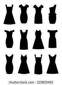 Little Black Dresses in Twelve Designs