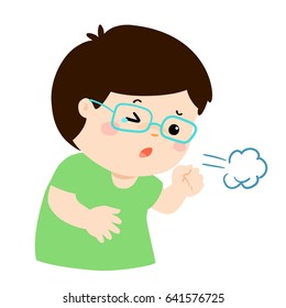 cartoon cough images stock photos vectors shutterstock https www shutterstock com image vector little boy coughing vector cartoon illustration 641576725