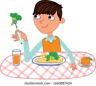 Boy Eating Images Stock Photos Vectors Shutterstock