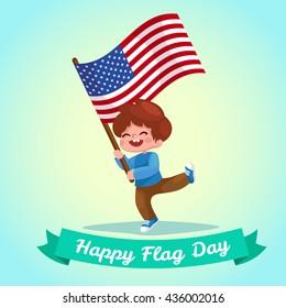 464bb5cd3edd child holding flag Images