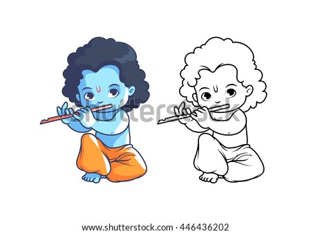 Cartoon krishna flute music free download