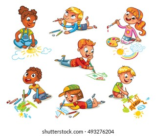 Kids Drawing Images, Stock Photos & Vectors | Shutterstock