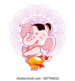 Cartoon Ganesh Images Stock Photos Vectors Shutterstock