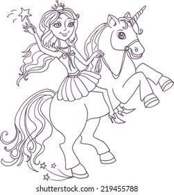 Little Fairy and Unicorn
