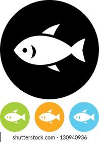 Little fish Vector icon