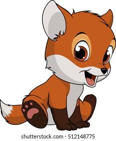 Little funny fox
