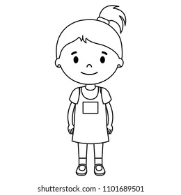 Similar Images, Stock Photos & Vectors of Girl vector ...