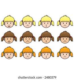 Little Girl Faces
