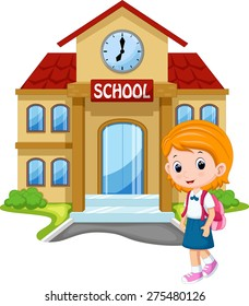 Cartoon School Images Stock Photos Vectors Shutterstock