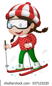 Skiing Clipart Hd Stock Images Shutterstock