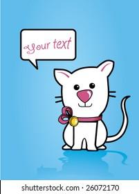 little kitten card