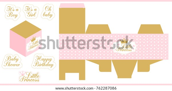 graphic relating to Princess Party Printable called Small Princess Social gathering Printable Template Child Inventory Vector