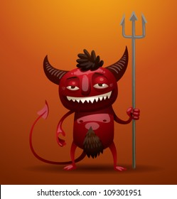 Little Red Devil, vector 01