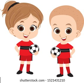 Little Soccer Player Kids - Profession Set