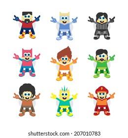little superhero character