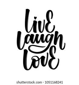 LIVE LAUGH LOVE | LOVELY HAND LETTERING