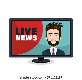 live news video icon