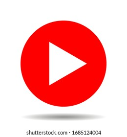 Live streaming icons. Red symbol and button of live streaming, broadcasting, online stream. Lower third template for tv, shows, movies and live performances. Vector