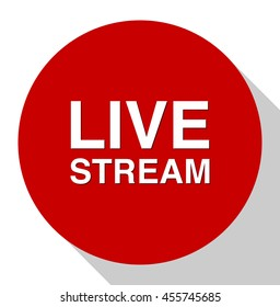 Livestream button