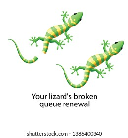 lizard division regeneration queue cell