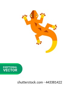 Lizard flat icon