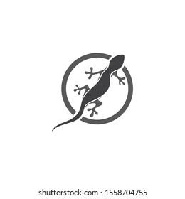 Lizard symbol icon vector animal