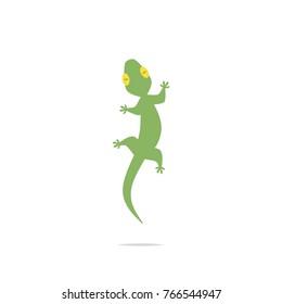 Lizard vector isolated