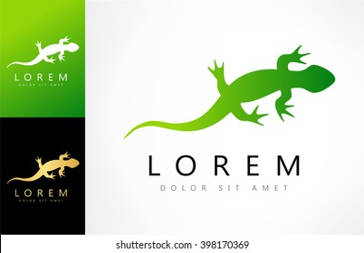 Lizard vector logo