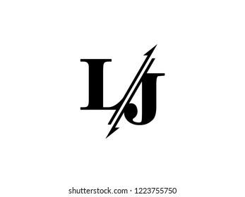 LJ initials logo sliced