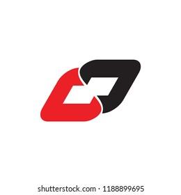 LJ logo letter chain design