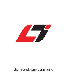 LJ logo letter design