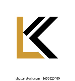 LK letter logo consep icon template