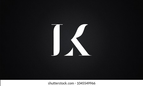 LK Letter Logo Design Template Vector