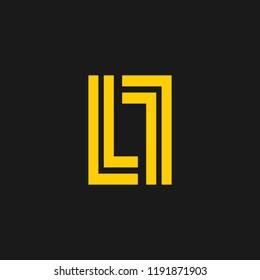 LL letter logo .L icon logo .