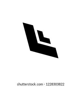 LL letter vector logo