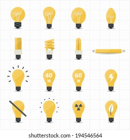 Llight Bulb Icons