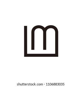 LM initial logo