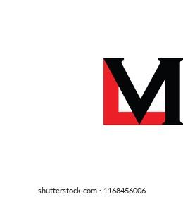 lm letter logo