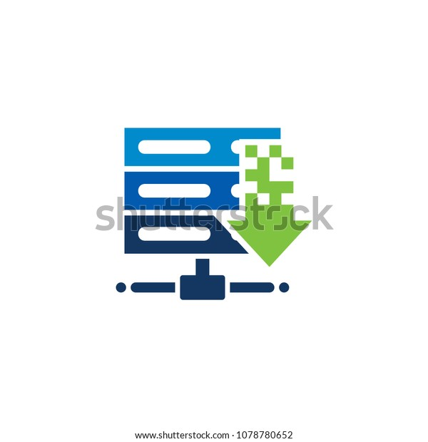 Load Server Logo Icon Design Stock Vector (Royalty Free) 1078780652