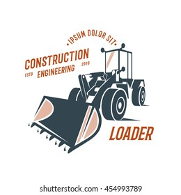 loader emblem, construction engineering