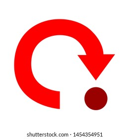 loading icon. flat illustration of loading. vector icon. loading sign symbol