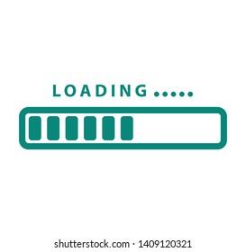 Loading icon ,progress loading icon vector illustration