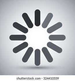 Loading icon, vector